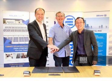 Allianz jalin MoU guna tenaga boleh diperbaharui