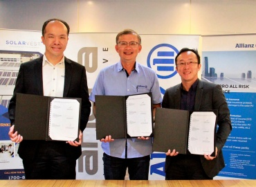 Anora & Allianz Malaysia Signs MOU with Solarvest