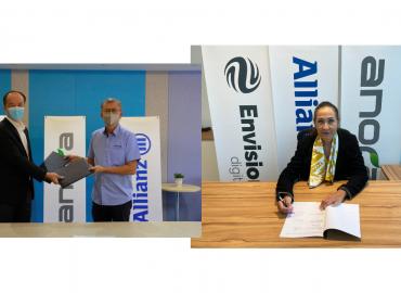 Anora Allianz远景智能 合作促进再生能源领域增长